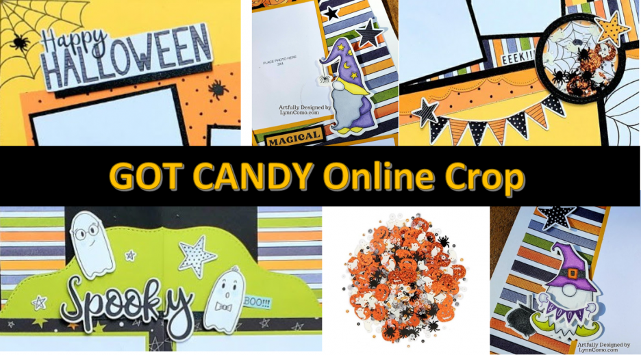 Got Candy online crop event