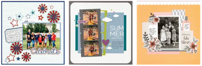 summer scrapbooking calendar kits