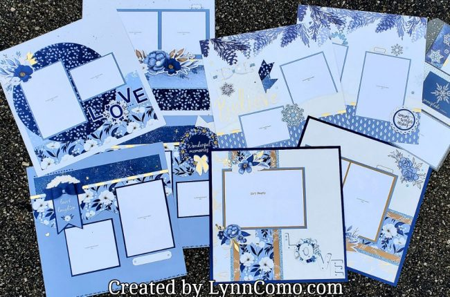 Serenity Kit of the Month Scrapbook Kit