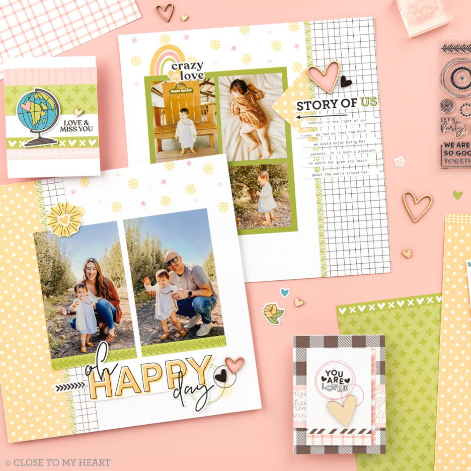 We are Good Together Scrapbooking Close To My Heart