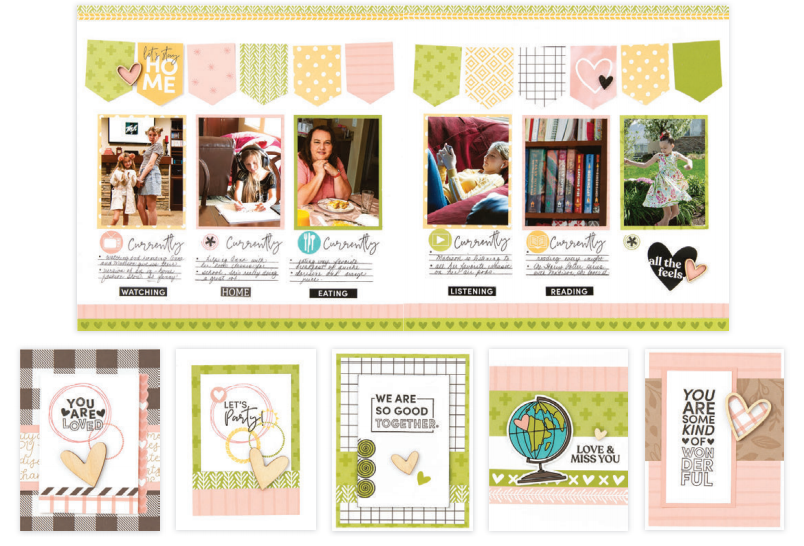 We are Good Together Scrapbooking Cards