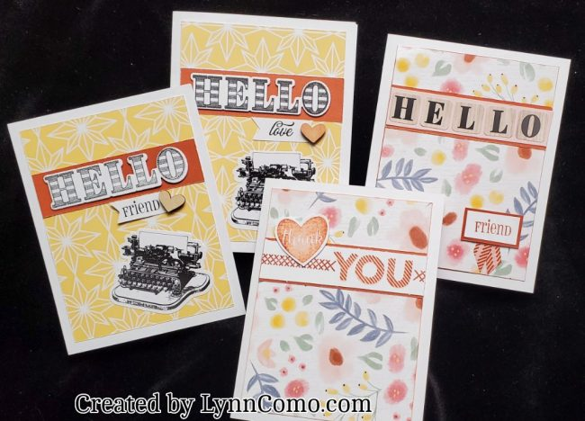 Handmade Hello Cards