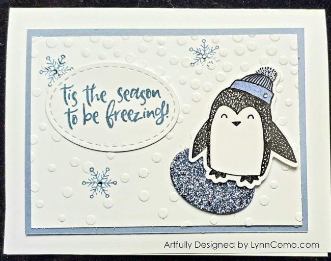 Winter Penguin Tis the Season