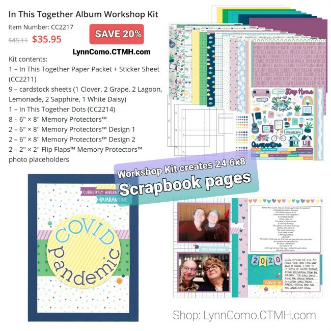 CC2217 In This Together Album Workshop Kit