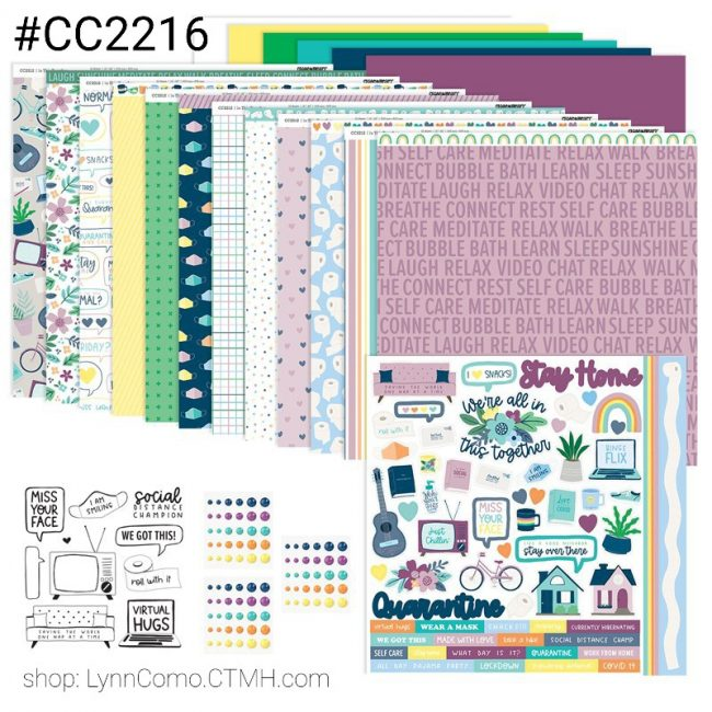 CC2216 In This Together Scrapbooking Bundle
