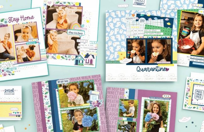 In This Together Scrapbooking