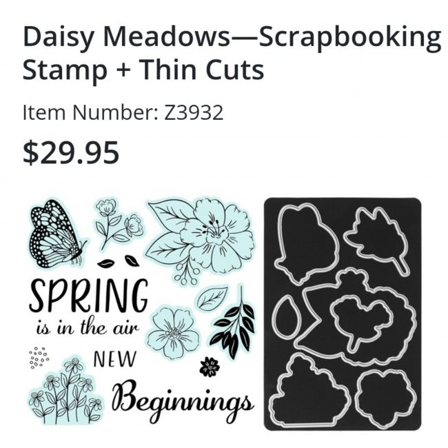 Daisy Meadows Scrapbooking Stamps