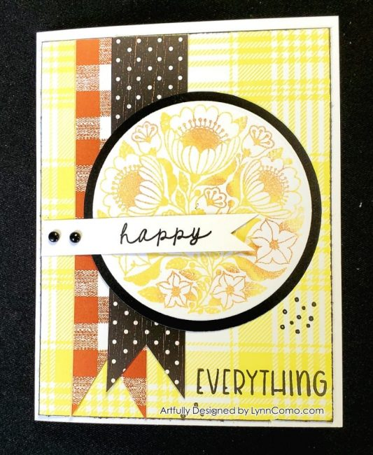 Flowers for You stamp of the month