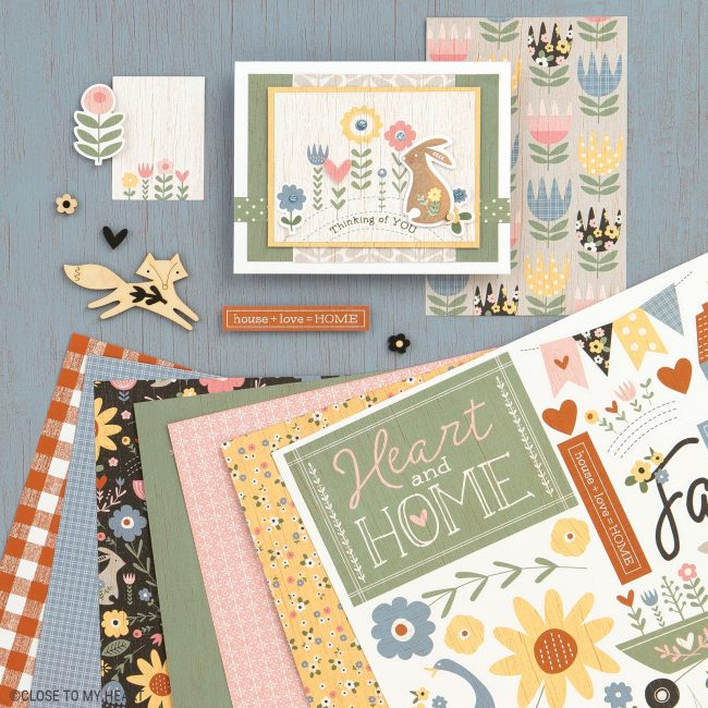 Hillside Cottage Paper Collection
