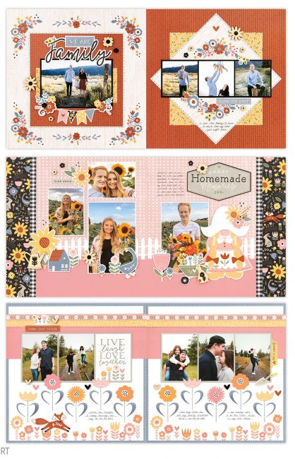 Hillside Cottage Scrapbook