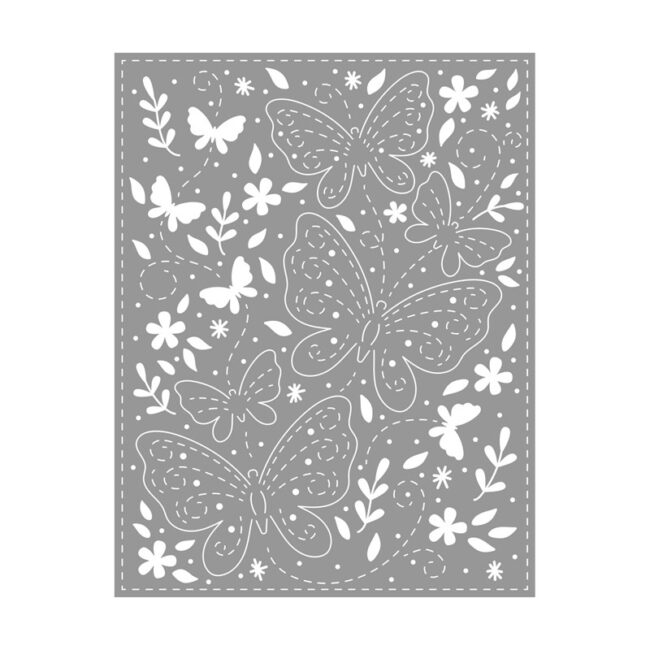 Butterfly Background Thin Cut